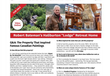 Haliburton Real Estate For Sale August Issue thumbnail