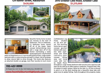 Haliburton Real Estate For Sale JULY 2017 Issue thumbnail