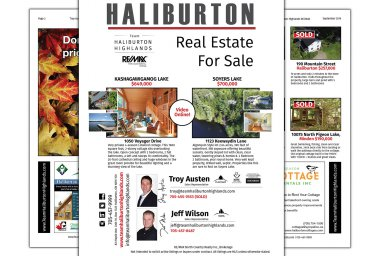 Haliburton Real Estate For Sale September Issue thumbnail