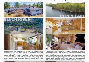 Haliburton Real Estate - July 2019 thumbnail